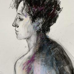 Portrait of Marta 39 x 33 cm