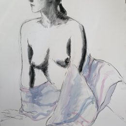 Draped Emma 84 x 60 cm