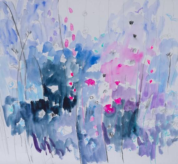 Winter Garden 57 x 76 cm