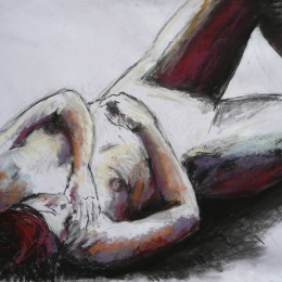 Red-haired Carolina 59 x 84 cm