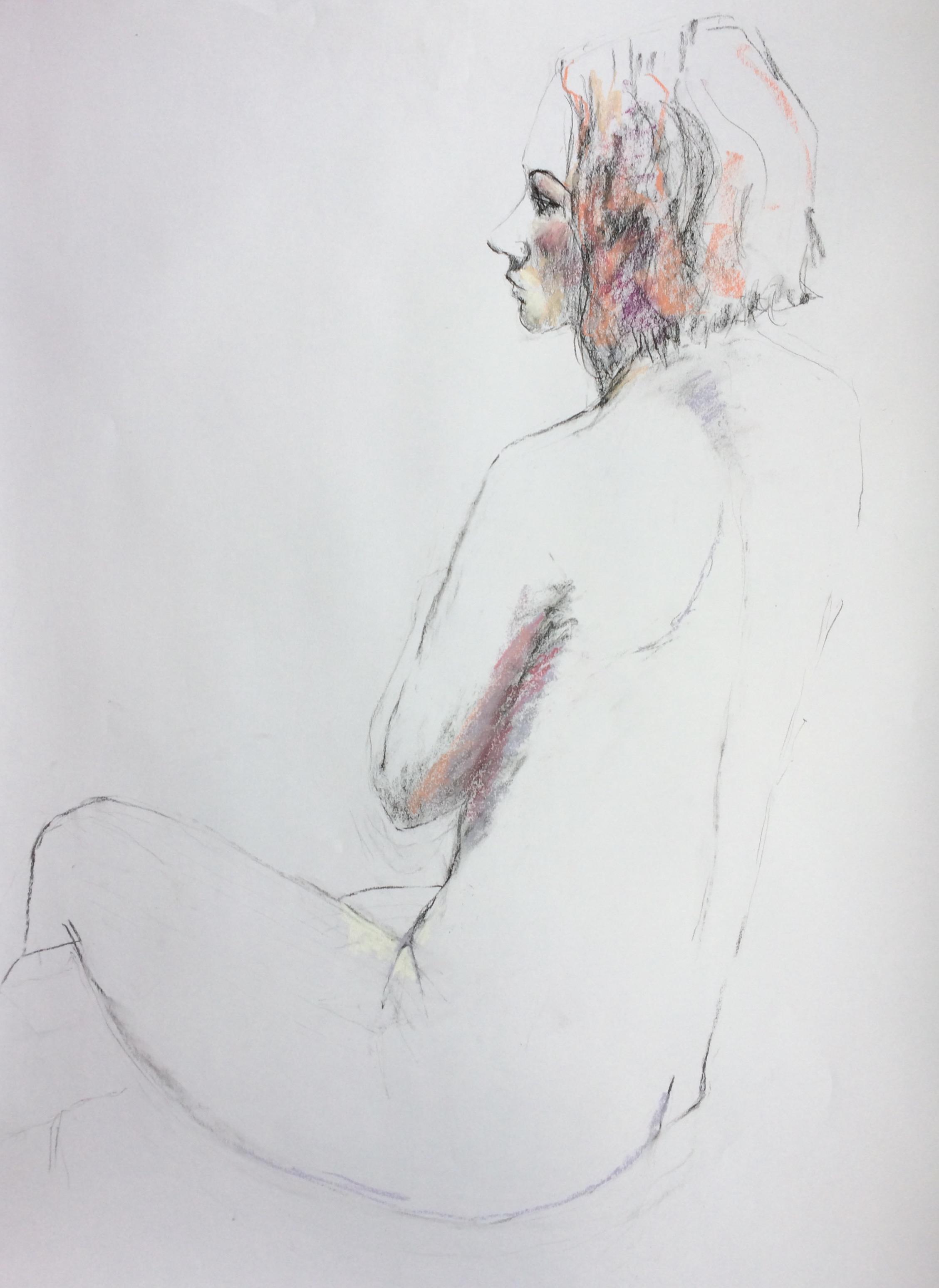 Pirita 84 x 60 cm Pastel on Paper