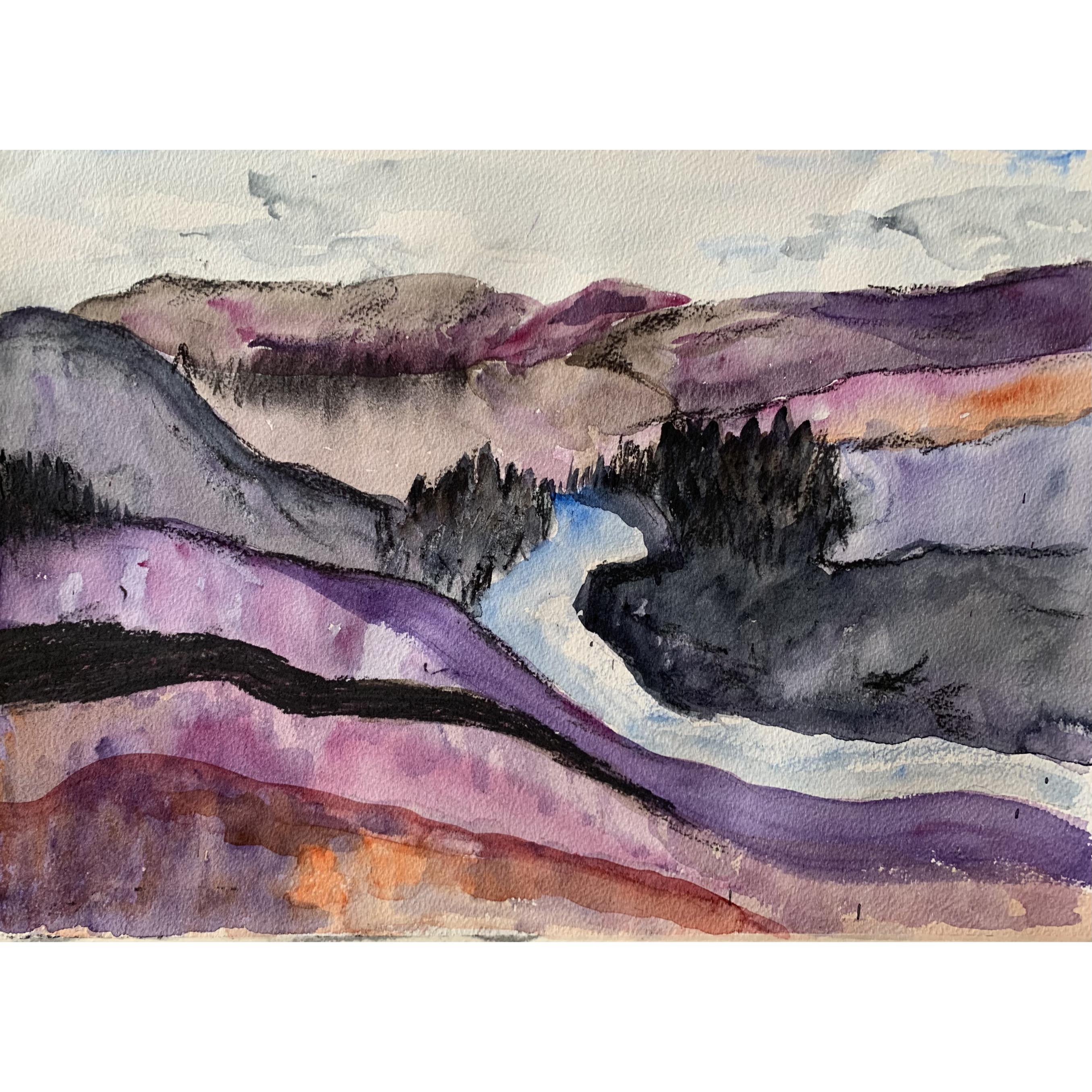 Landscape by Barbara Gilloran